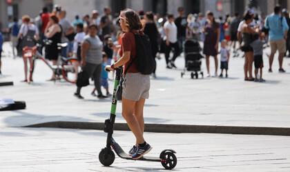 Mi lesz veled, e-roller? - Több ezer német rolleres sérült meg 2020-ban